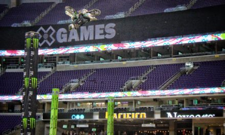 Practice at X Games