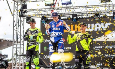 X Games Moto X Freestyle Winner Tom Pages